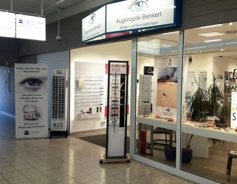 Aussenansicht Augenoptik Benkert Gotha
